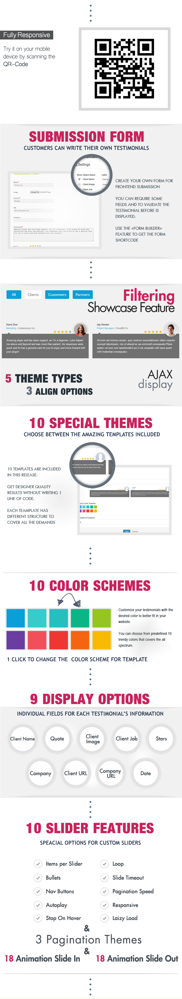 Testimonials Showcase for Visual Composer Plugin - 2